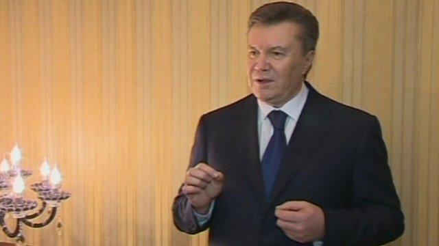 President Viktor Yanukovych