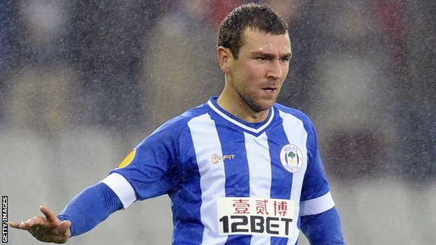 Wigan Athletic's James McArthur
