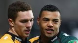 George North and Luther Burrell