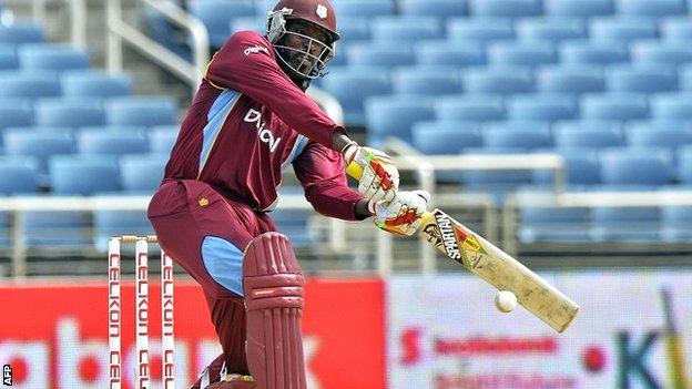 West Indies opener Chris Gayle