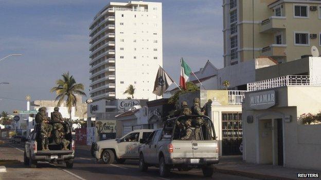 Miramar hotel, Mazatlan, Sinaloa