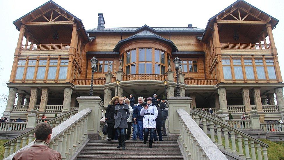 Country residence of Ukrainian President Viktor Yanukovych