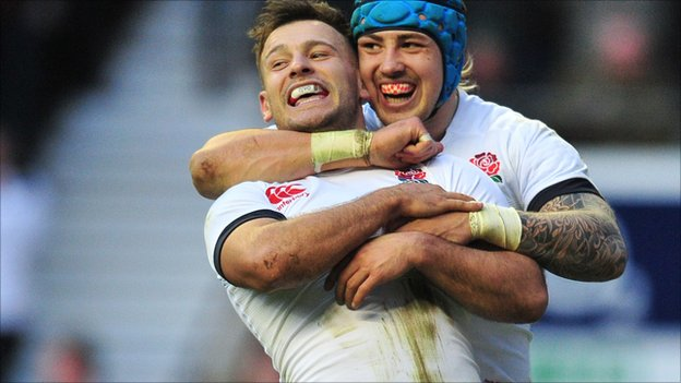 Danny Care and Jack Nowell