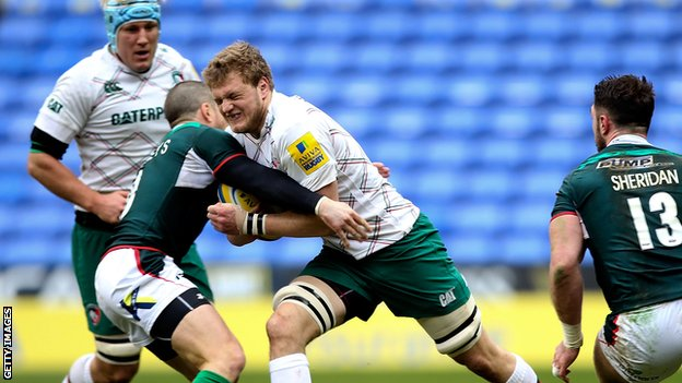 London Irish v Leicester