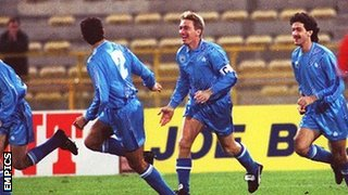 San Marino score against England