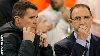 Ireland's management team of Martin O'Neill and Roy Keane are well known to Gordon Strachan
