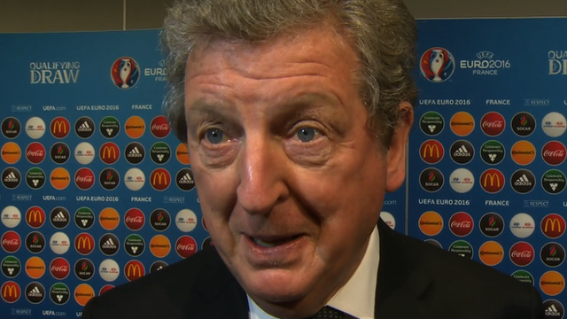 Euro 2016 draw good for England - Hodgson