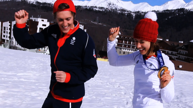 Team GB perform Pharrell's 'Happy'