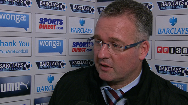 Aston Villa took too many chances - Paul Lambert