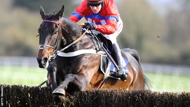 Sprinter Sacre and jockey Barry Geraghty