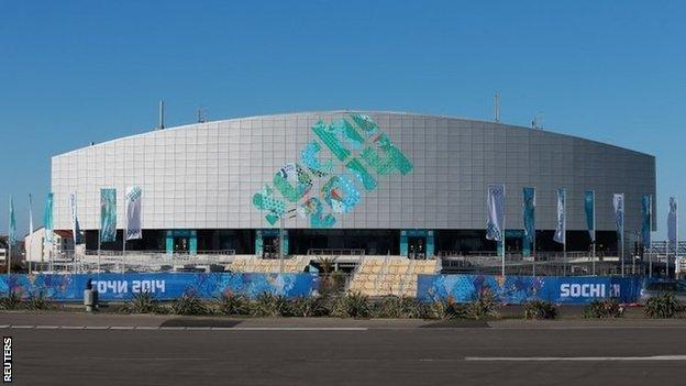 Ice Cube Curling Centre in Sochi