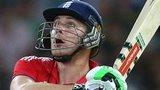 England all-rounder Luke Wright in Twenty20 action against Australia