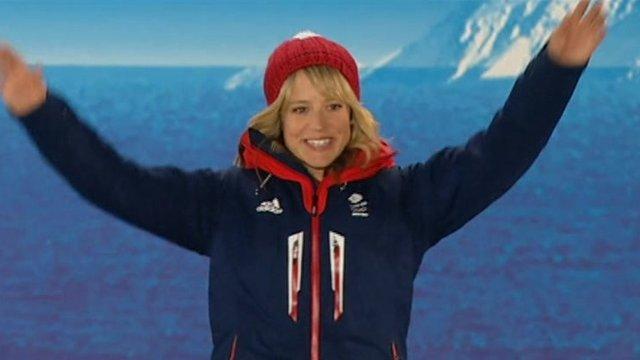 Snowboarder Jenny Jones