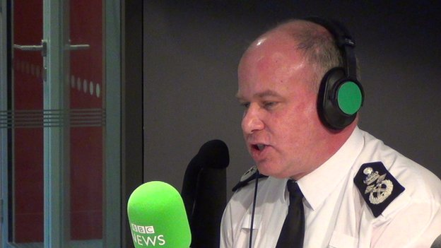 Deputy Commissioner of the Metropolitan Police Craig Mackie
