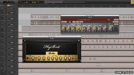 Ohm Studio software screengrab