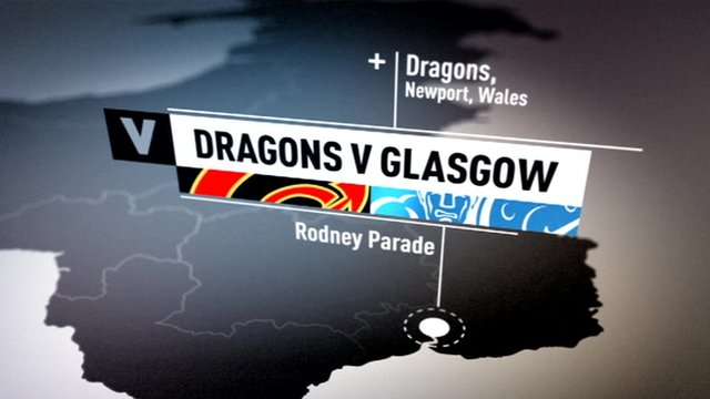 Newport Gwent Dragons 24-23 Glasgow Warriors