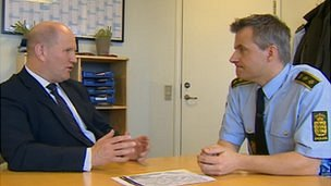 Mike Barton in conversation with Copenhagen's police chief