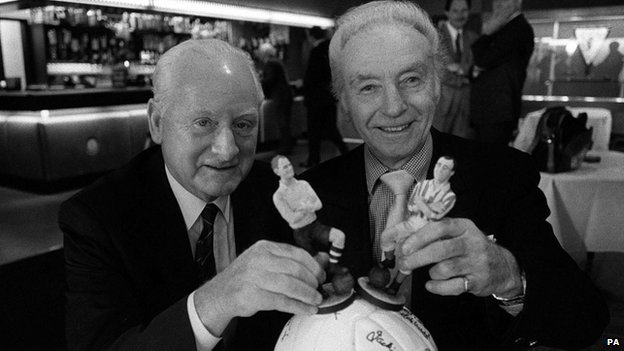 Sir Tom Finney and Sir Stanley Matthews