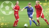 Women playing football
