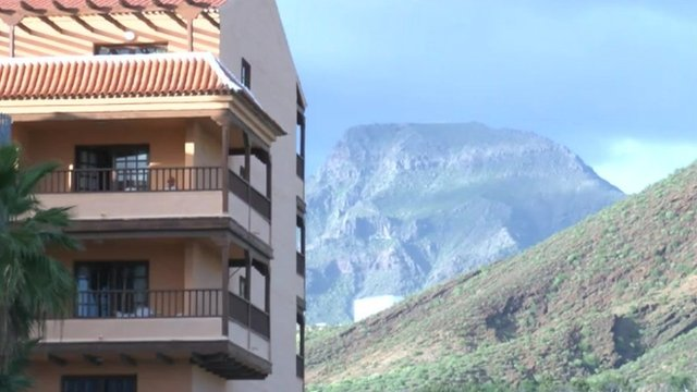 The apartment block in Tenerife where Paul Cullen lived