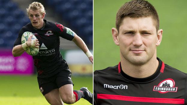 Ben Cairns (left) and Steven Lawrie