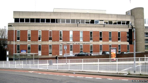 Snig Hill police station, Sheffield