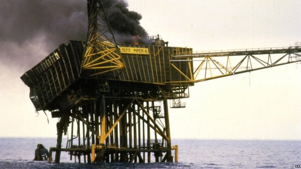 A fire on the Piper Alpha oil platform off the coast of Aberdeen killed 167 people in 1988 and is still the world's worst offshore oil and gas tragedy.