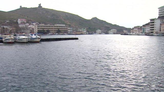 Bay at Balaklava