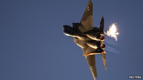 Israeli F-15I fighter jet (file image)