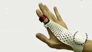 Fujitsu glove