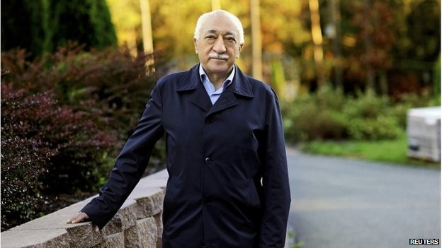 Fethullah Gulen is pictured at his residence in Saylorsburg, Pennsylvania September 24, 2013