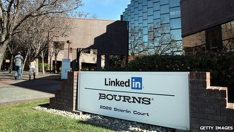 LinkedIn headquarters in California