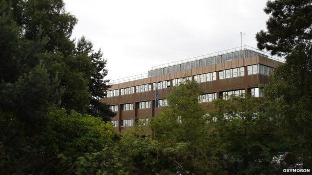 Suffolk Police headquarters, by Oxymoron via Geograph