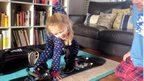 Laura sent us this picture of her daughter Scarlett snowboarding