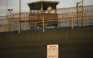 Guard tower at Guantanamo