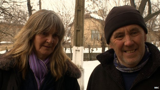 Britons Kate and Terry Humphries, formerly of Rutland, England