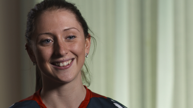 Great Britain's Laura Trott ahead of the World Track Cycling Championships