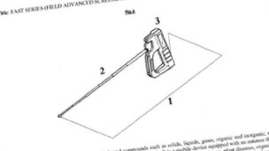 A still from the patent application for the device