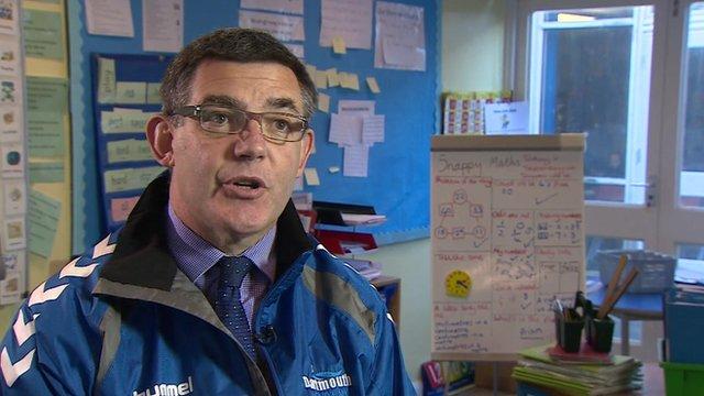 Nick Hindmarsh, Head teacher, Dartmouth Academy