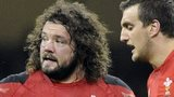 Adam Jones (left) and Sam Warburton