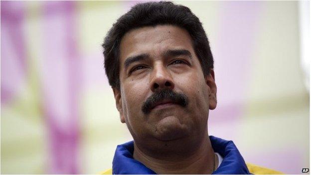 Venezuelan President, Nicolas Maduro