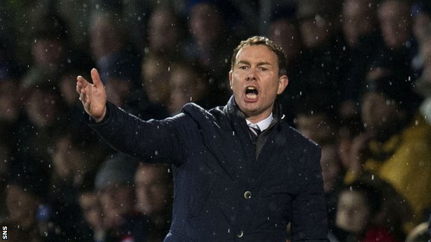 Ross County boss Derek Adams
