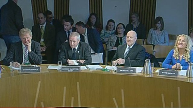 Witnesses at the Economy Committee