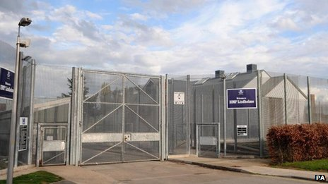 Gate of HMP Lindholme