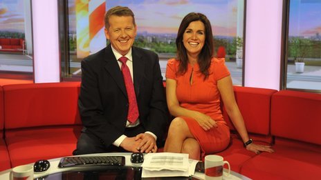 Susanna Reid and Bill Turnbull
