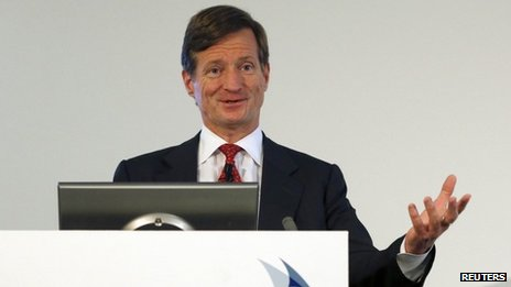 Brady Dougan, Chief Executive of Credit Suisse