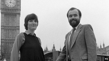 Harriet Harman and Jack Dromey in 1982