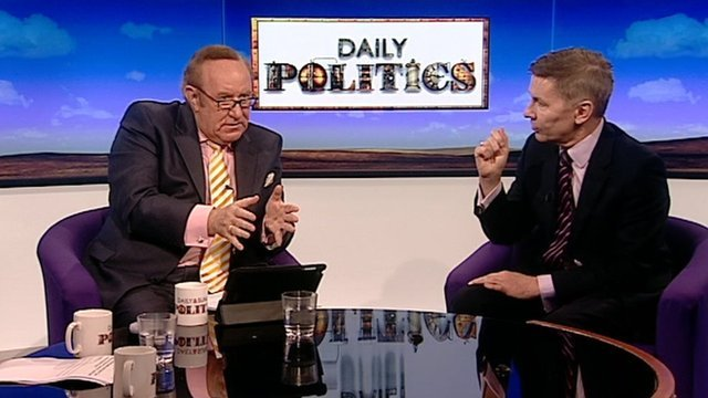Andrew Neil and Andrew Pierce