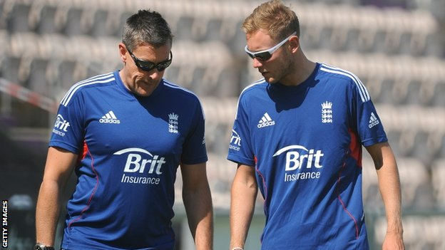 Ashley Giles & Stuart broad