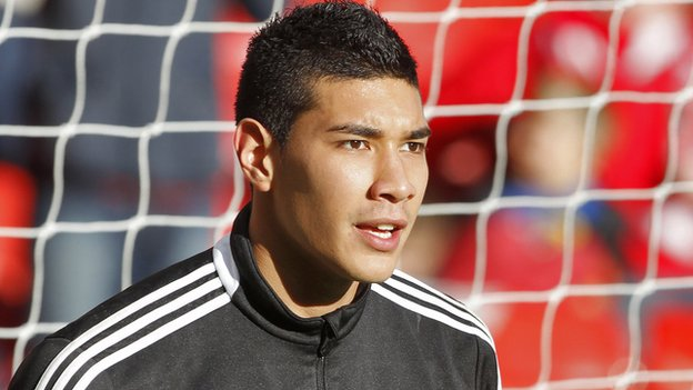 Crewe's on-loan Fulham keeper Neil Etheridge
